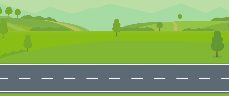 Precaución - Carreteras de doble sentido